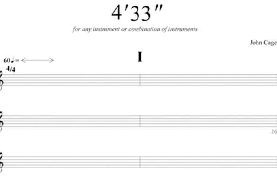 empty sheet music
