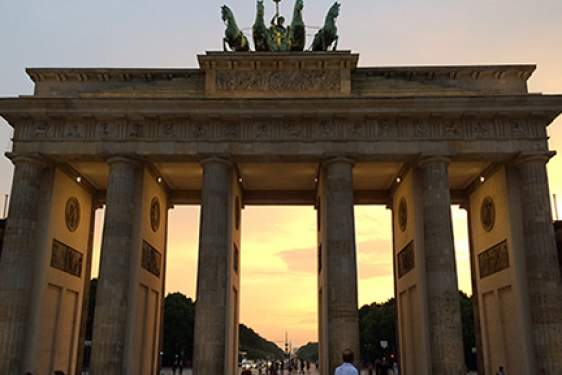 photo of the Brandenburg Gate in Berlin