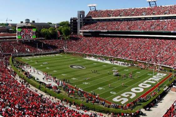 UGA Football Stadium