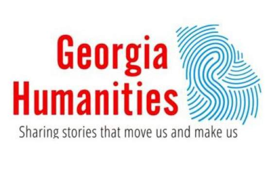 logo graphic with thumbprint of the state of Georgia