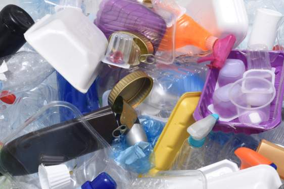 photo of plastic refuse